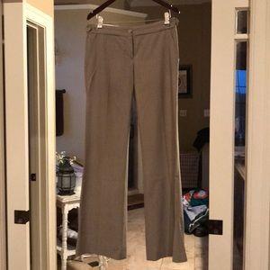 Wide leg theory pants